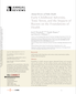 Cover for Early Childhood Adversity, Toxic Stress, and the Impacts of Racism on the Foundations of Health