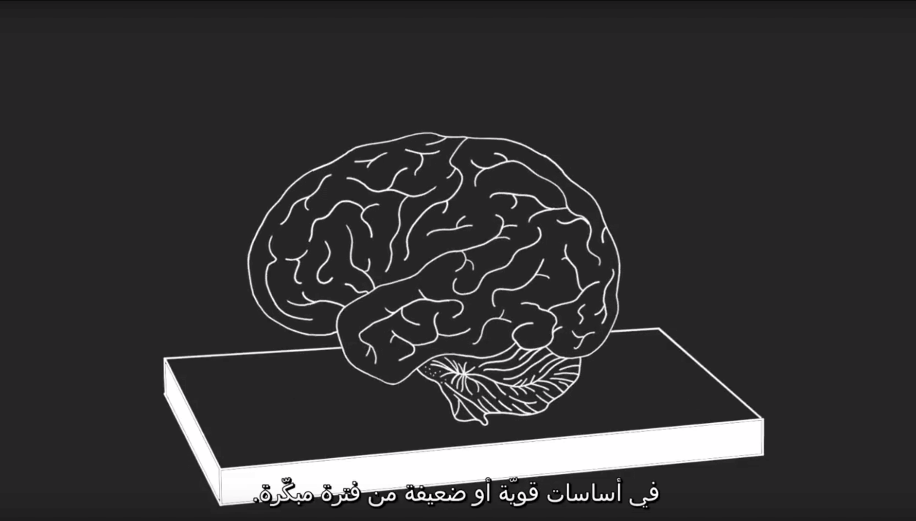 Arabic InBrief early childhood screenshot