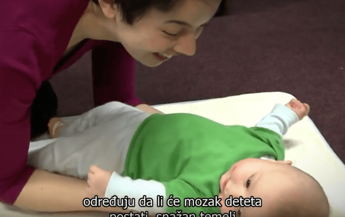 Building Brain Architecture Video Screenshot with Serbian Subtitles