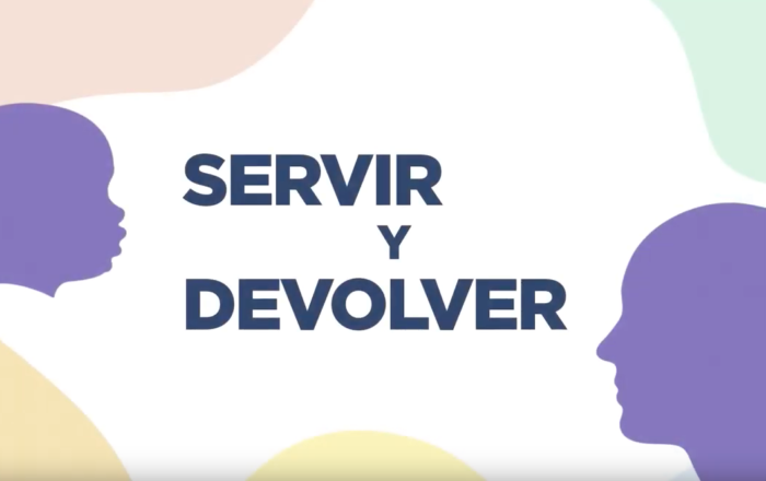 Servir Y Devolver video title card